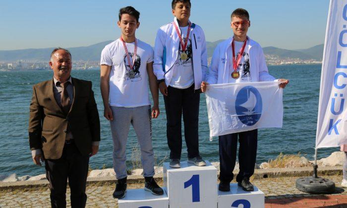 23 Nisan Yelken Yarışları Tamamlandı