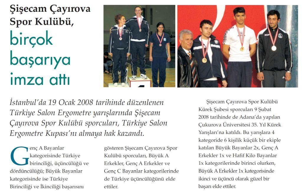 Şişecam Çayırova Spor Kulubü Birçok Başarıya İmza Attı