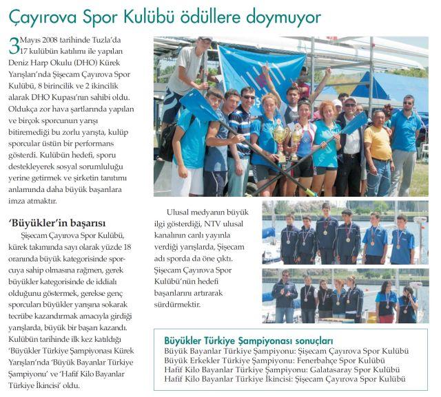 Şişecam Laser Türkiye Şampiyonası 15 İli Buluşturdu
