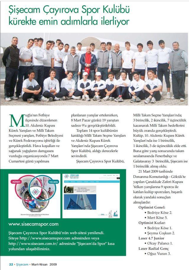 Şişecam Çayırova Spor Kulubü Kürekte Emin Adımlarla İlerliyor