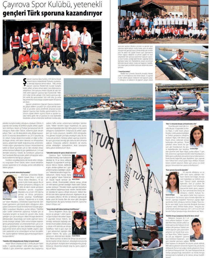 Çayırova Spor Kulübü, yetenekli gençleri Türk sporuna kazandırıyor