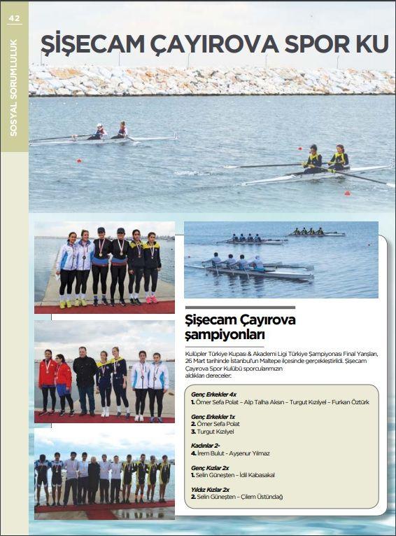 Şişecam Çayırova Spor Kulübü başarıya doymuyor