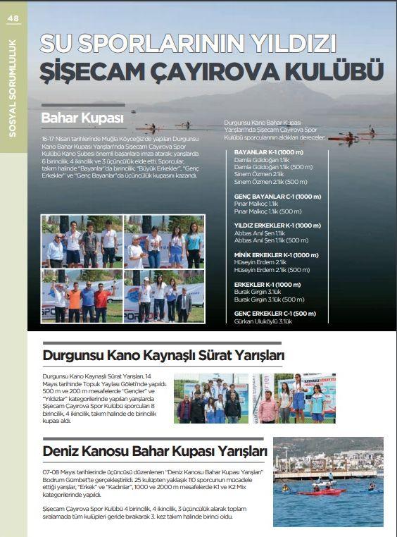Su Sporlarının Yıldızı Şişecam Çayırova Spor Kulübü