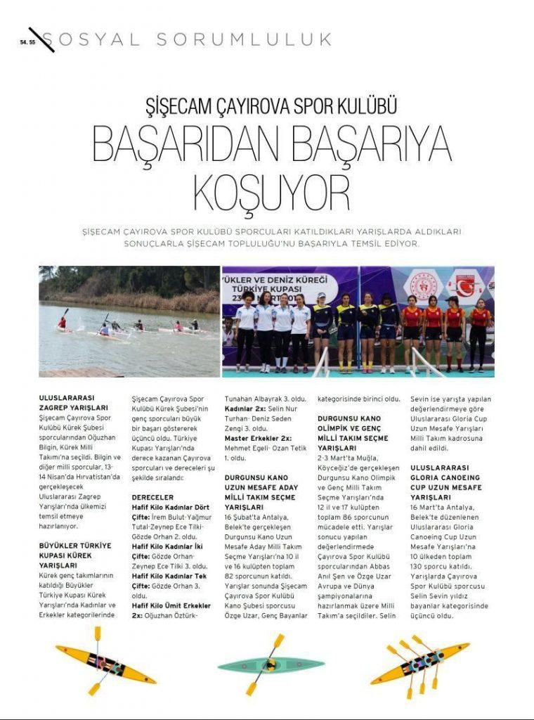 Şişecam Çayırova Spor Kulübü Başarıdan Başarıya Koşuyor