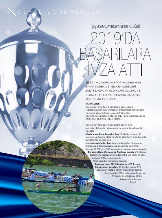 Şişecam Çayırova Spor Kulübü 2019'da Başarılara İmza Attı