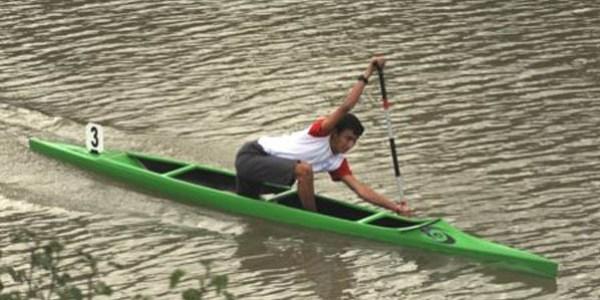 """Durgunsu kano yarışları"""" başladı"""