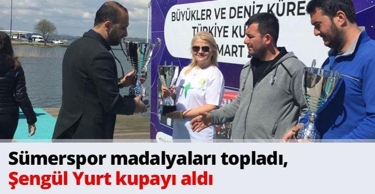 Sümerspor madalyaları topladı, Şengül Yurt kupayı aldı