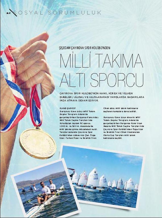 Milli Takıma Altı Sporcu