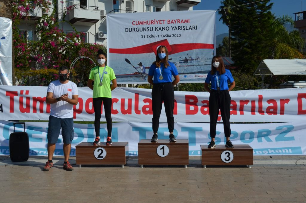 İlçemiz Köyceğiz de 29 Ekim Cumhuriyet Bayramı Durgunsu Kano Milli Takım Ve Tohm Seçme Yarışları Tamamlandı. (01.11.2020)