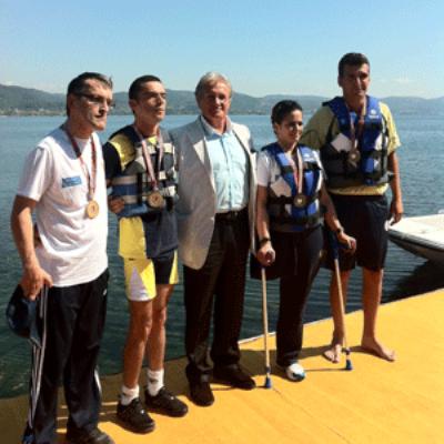 Engel Tanımayan Kürekçiler Sapanca'da Yarıştılar