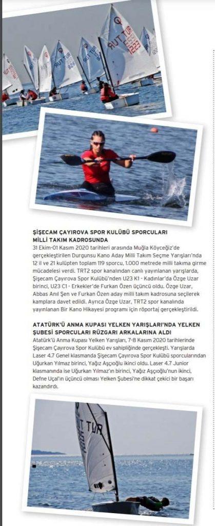 Şişecam Çayırova Spor Kulübü Sporcuları Milli Takım Kadrosunda