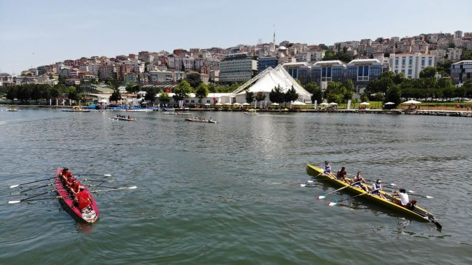 Golden Horn Rowing Races Organized by IBB Subsidiary Spor Istanbul, Breathtaking