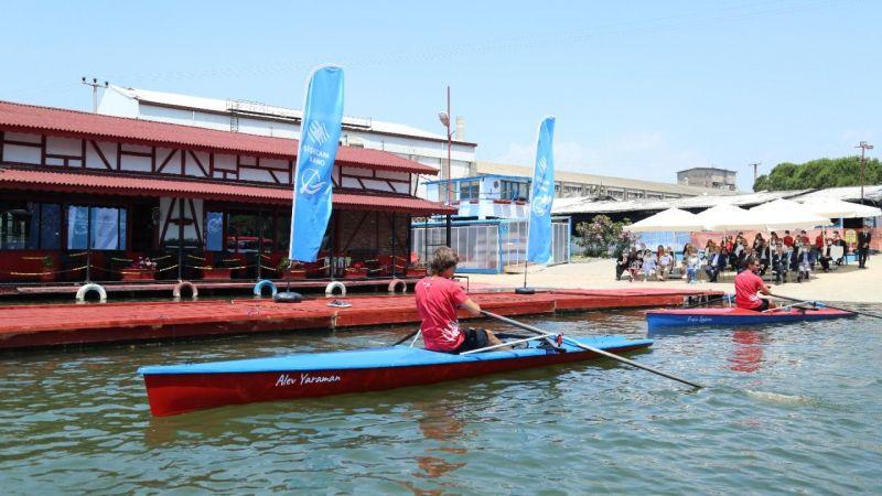 Şişecam Çayırova'nın İlk deniz küreği tekneleri denize indirildi